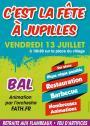 13 juillet 2012 - C'est la fête à Jupilles  ********* En raison de la météo incertaine les festivités sont transférées à la salle de fêtes