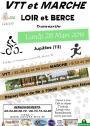 Lundi 28 mars - randonnée VTT et marche