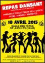 18 avril 2015 - Association des Parents d'Élèves de Bercé - Repas dansant