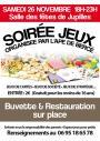 Samedi 26 novembre - Soirée jeux - APE de Bercé